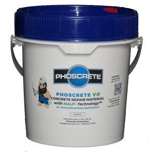 phoscrete concrete repair materials