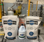 Phoscrete VO Kits are packaged 2 Dry Mix Bags to 1 jug of Liquid Activator