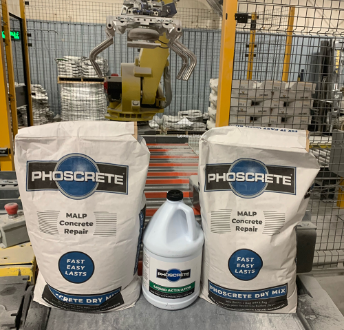 Phoscrete's Fast and Easy Concrete Repair