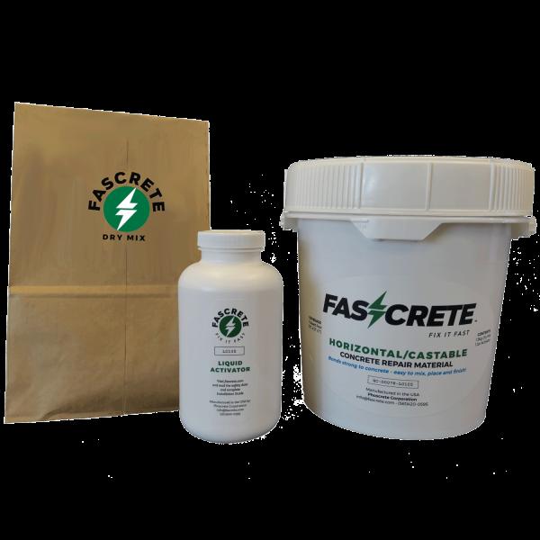 Phoscrete Repair Material for Horizontal/Castable Concrete