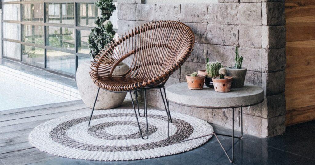 Chair on Concrete Floor